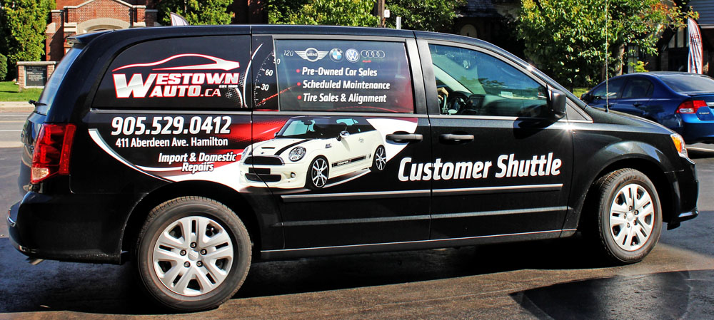 Westown Auto Customer Shuttle